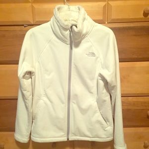 White/pearl NorthFace fleece